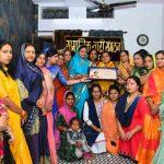महिला दिवस पर सलोनी पटवा का किया स्वागत