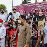 स्नेह के विशेष बच्चों ने महामहिम राज्यपाल डॉ. थावरचंद गेहलोत का प्रथम नगर आगमन पर किया स्वागत