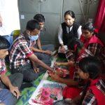 स्नेह के व्यावसायिक प्रशिक्षण ग्रुप के बच्चों ने हर्षोल्लास से मनाया रक्षाबंधन पर्व